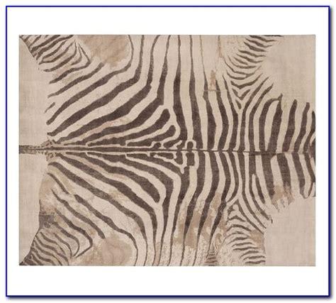 pottery barn zebra print rug rugs home design ideas