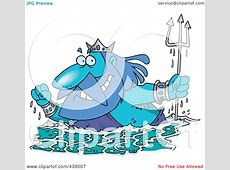 King Neptune Coloring Pages Clipart