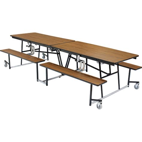 cafeteria bench flip up bench cafeteria table
