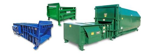 trash compacted residential commercial trash compactors inc waste recycling containers baler parts repair l j b