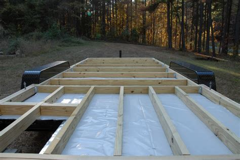 How To Frame A Floor S Tiny House The Tiny