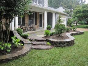Landscape Ideas In Front Of Porch Front Porch Landscaping This Landscaping Design Extends