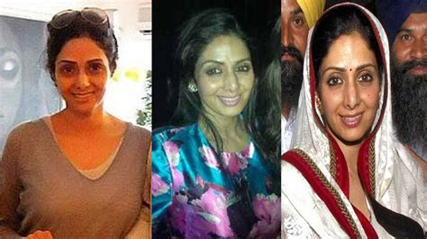 sridevi without makeup bollywood actress sridevi shocking without makeup pics