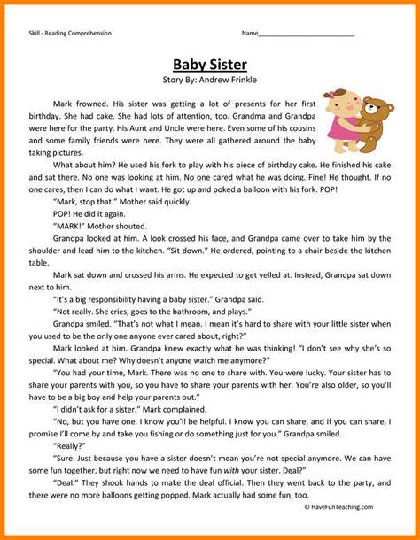 10 reading worksheets 2nd grade bubbaz artwork