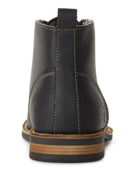penguin chukka boots original penguin black merle chukka boots in black for