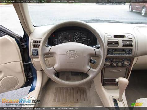 1998 Toyota Corolla Interior by Gray Interior 1998 Toyota Corolla Le Photo 15