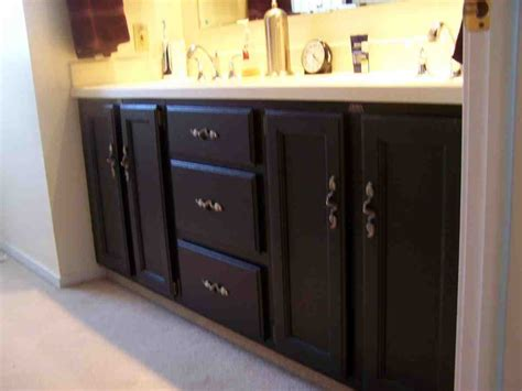 Bathroom Cabinet Paint Ideas by Painted Bathroom Cabinets Ideas Home Furniture Design
