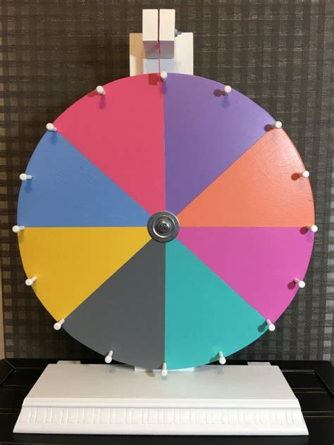 How To Make A Spinning Wheel Out Of Paper - 25 best ideas about prize wheel on fall