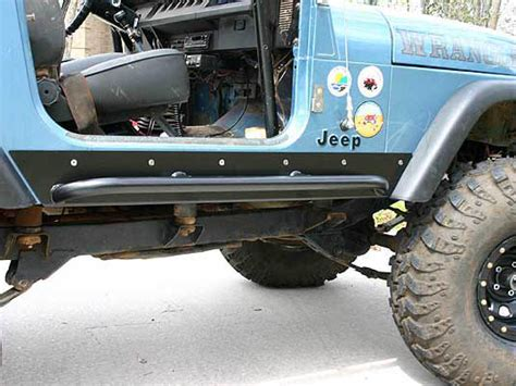 Jeep Yj Rock Sliders Jeep Yj Rock Sliders Rocker Guards Rocker Protection
