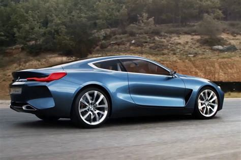 bmw 8 series concept in new promo clip