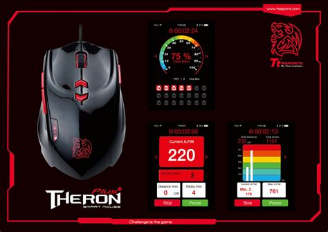 Mouse Macro Tt tt esports theron plus smart mouse debuts tt esports theron plus smart mouse theron plus tt