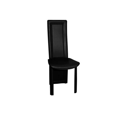 lot de 4 chaises salle a noires asya achat vente
