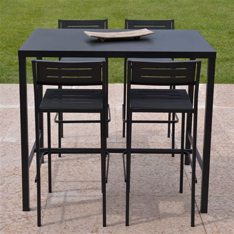 Table Haute Avec Tabouret by Ensemble De Jardin Table Haute Tabouret Dorio Rd Italia