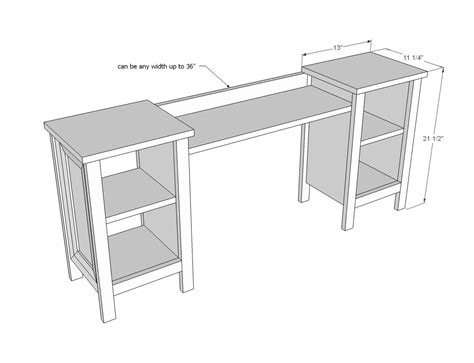 Free Makeup Vanity Woodworking Plans