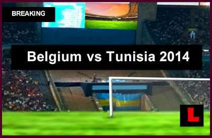 Belgium Vs Tunisia Belgium Vs Tunisia 2014 Score Delivers Soccer Friendly