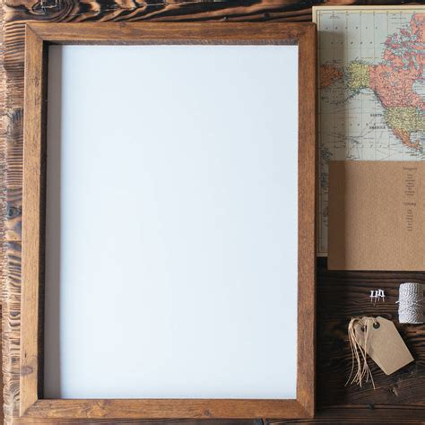 Handmade Wood Picture Frames - handmade wooden frame by the wedding of my dreams