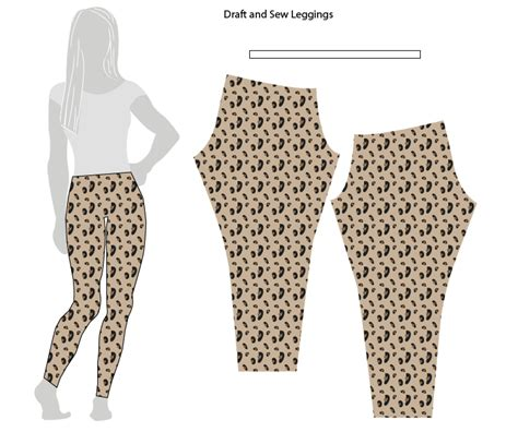 37136 Cln Streach Tribal Cln Legging Streach Streach L Besar drafting and sewing stretch yourself live