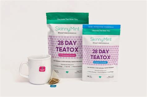 Tea Detox Review Skinnymint by Mint 28 Teatox Review Lifestyle Kozo