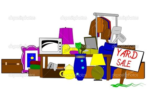 Top Garage Sale Items by Yard Sale Items Clipart