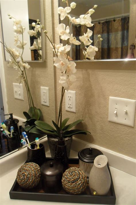 decor ideas for small bathrooms decorating with one pink chic went shopping and redone my bathroom