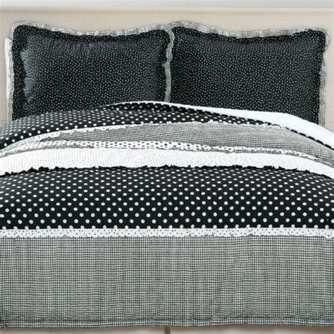 black and white polka dot bedding cute polka dots comforter sets