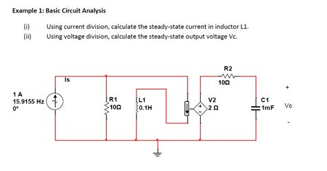 inductance in circuit analysis inductor voltage steady state 28 images capacitor steady state dc analysis inductors and