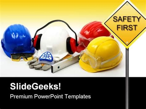 Safety Concept Construction Powerpoint Backgrounds And Free Safety Powerpoint Templates