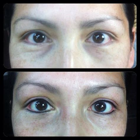 tattoo eyeliner top and bottom permanent makeup top and bottom eyeliner by sidney yelp