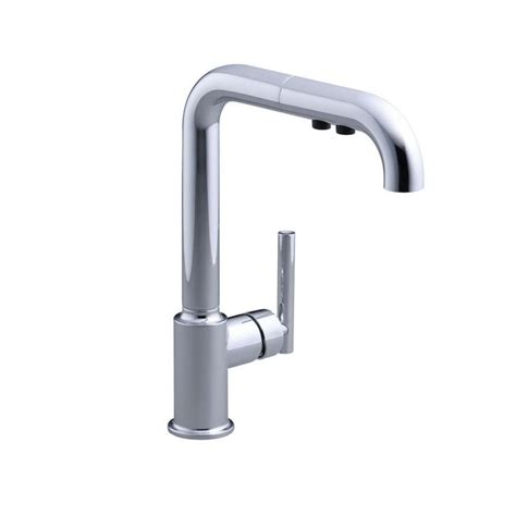 kohler purist kitchen faucet kohler kitchen purist pull out sprayer kitchen faucet in