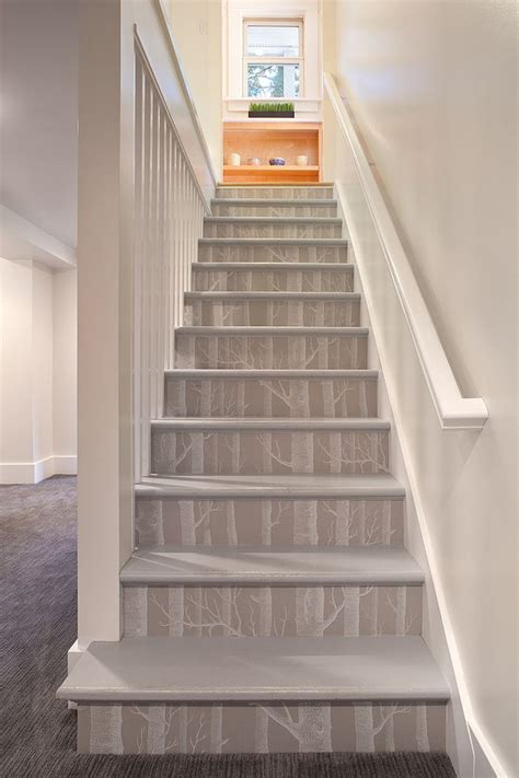 stairway ideas 16 fabulous ideas that bring wallpaper to the stairway