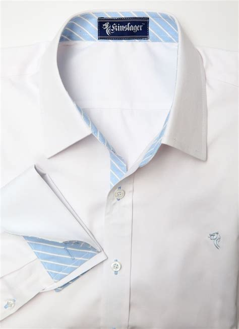 trendy office shirt in white basic white shirt with fancy