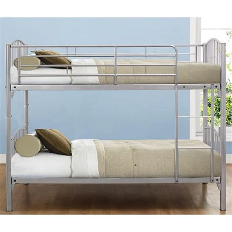 Paddington Children Metal Bunk Bed In Silver 29704 Paddington Bunk Bed