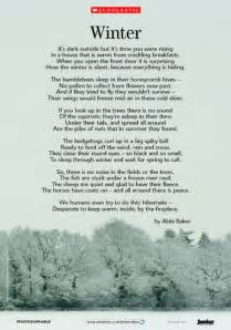 Winter Season Essay For Class 8 by Winter Illustrated Poem Free Primary Ks2 Teaching Resource Scholastic