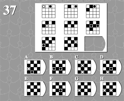 pattern iq questions with answers some seemingly complex iq questions their solutions and