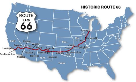 european motorcaravanning route 66 by motorhome usa