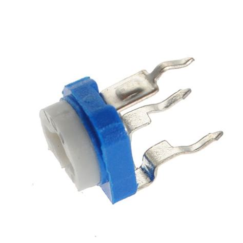 what is trimmer resistor 10x6m10k ohhorizontal pot variable cermet potentiometer trimmer resistor ebay