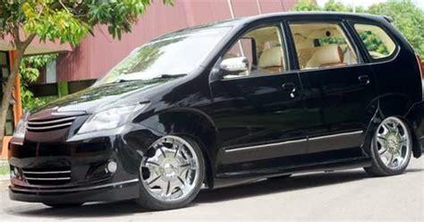Karpet Avanza 2013 modifikasi avanza hitam ceper gaul modif motor mobil