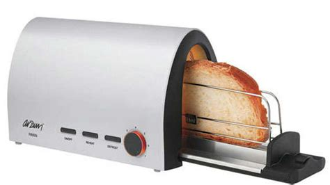 tostapane orizzontale horizontal breakfast toasters arzum firrin toaster