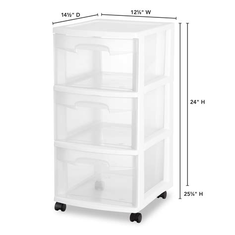 3 drawer plastic storage cart 3 drawer rolling organizer storage cart bin container set