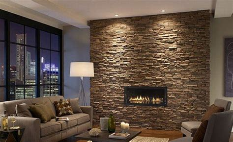 stone wall tiles for living room how do you feel about indoor stone walls freshome com