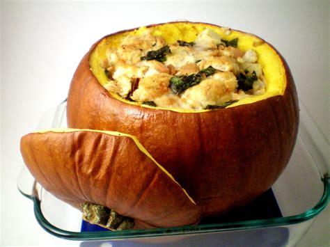 pumpkin food stuffed pumpkin recipe dishmaps