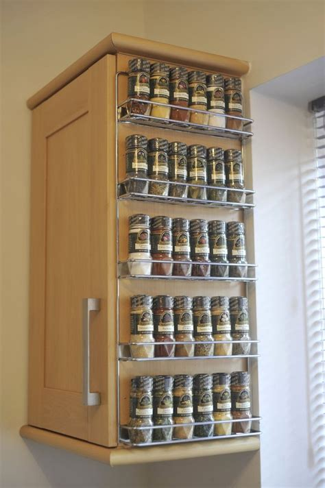 Kitchen Spice Rack Ideas Best 25 Kitchen Spice Storage Ideas On Spice Racks Spice Rack Organization And Diy