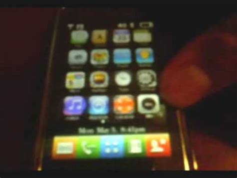 iphone themes not working 1st working theme for lg chocolate touch iphone theme