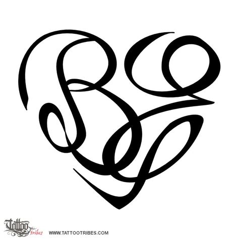 letter e tattoo of b e bond custom designs