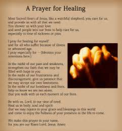 prayers for healing the sick images prayers