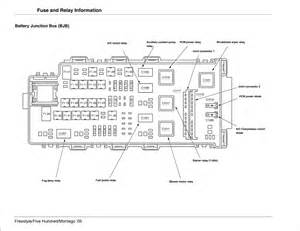 2007 ford five hundred ac diagram 2007 ford free wiring