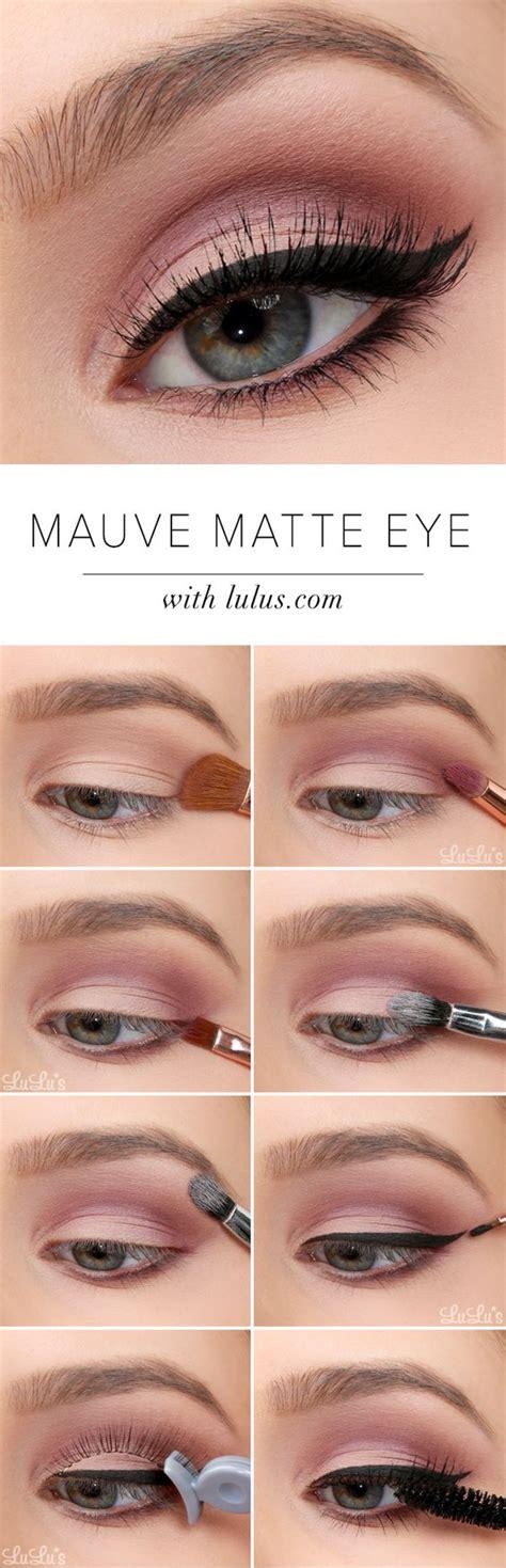 eyeliner tutorial step by step 15 easy step by step makeup tutorials for beginners