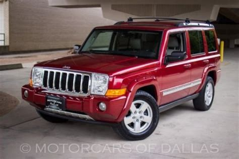 2006 Jeep Commander Radio Purchase Used 2006 Jeep Commander Sunroof Sat Radio Heated