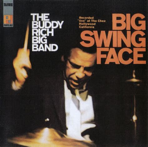 the buddy rich big band big swing face buddy rich 1917 1987 cover jazz
