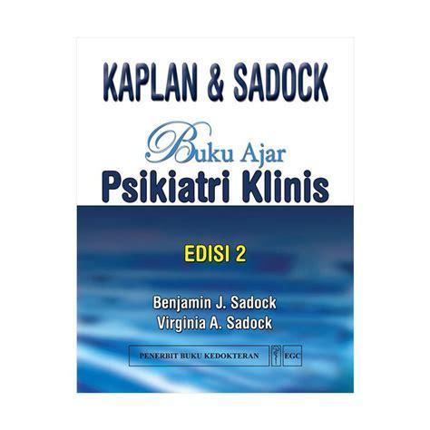 jual egc buku ajar psikiatri klinis kaplan sadock edisi